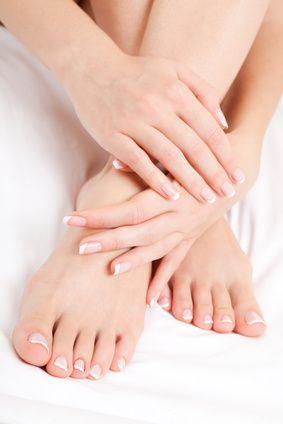 bain soin des pieds