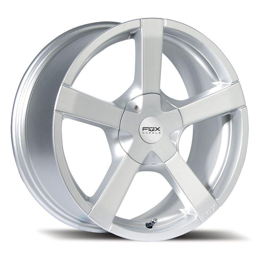 14 Inch Fox Fx1 4x108 Silver 4 Stud Ford Peugeot Alloy Wheels