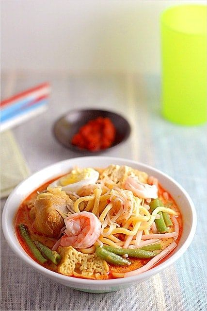 Curry Mee/Curry Laksa