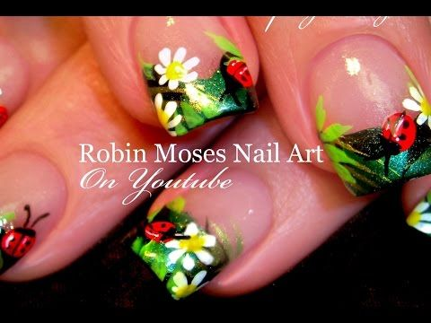 Diy Ladybug Nails Easy Summer Nail Art Design Tutorial Youtube