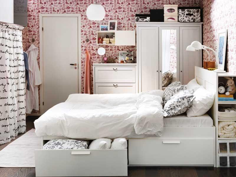 Dormitorios bien pensados | Camas con cajones debajo, Cama con ...