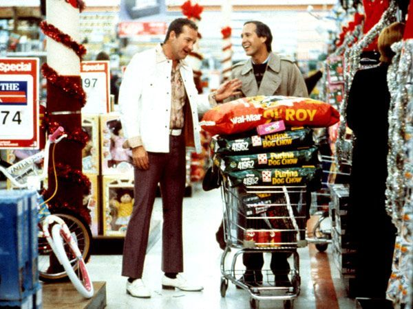 Eddie and Clark go shopping. | Christmas Vacation ...