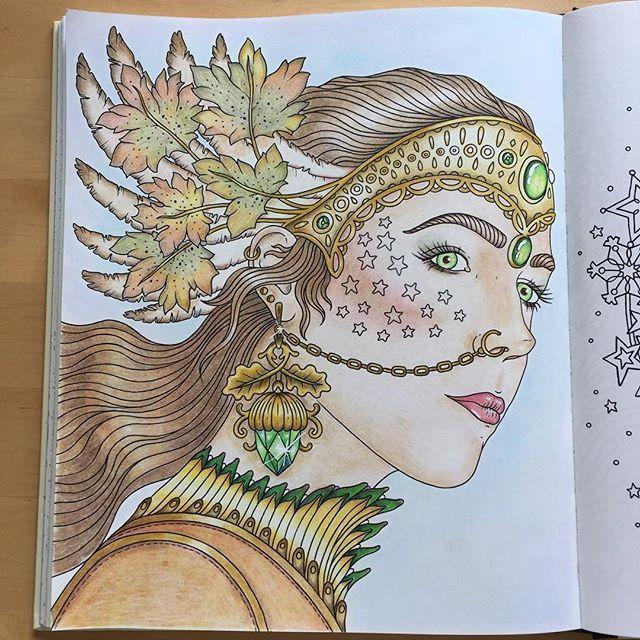 Colouringforadults Coloringforadults Hannakarlzon Tidevarv Coloring BooksAdult ColoringColouringDaydreamPsBooks
