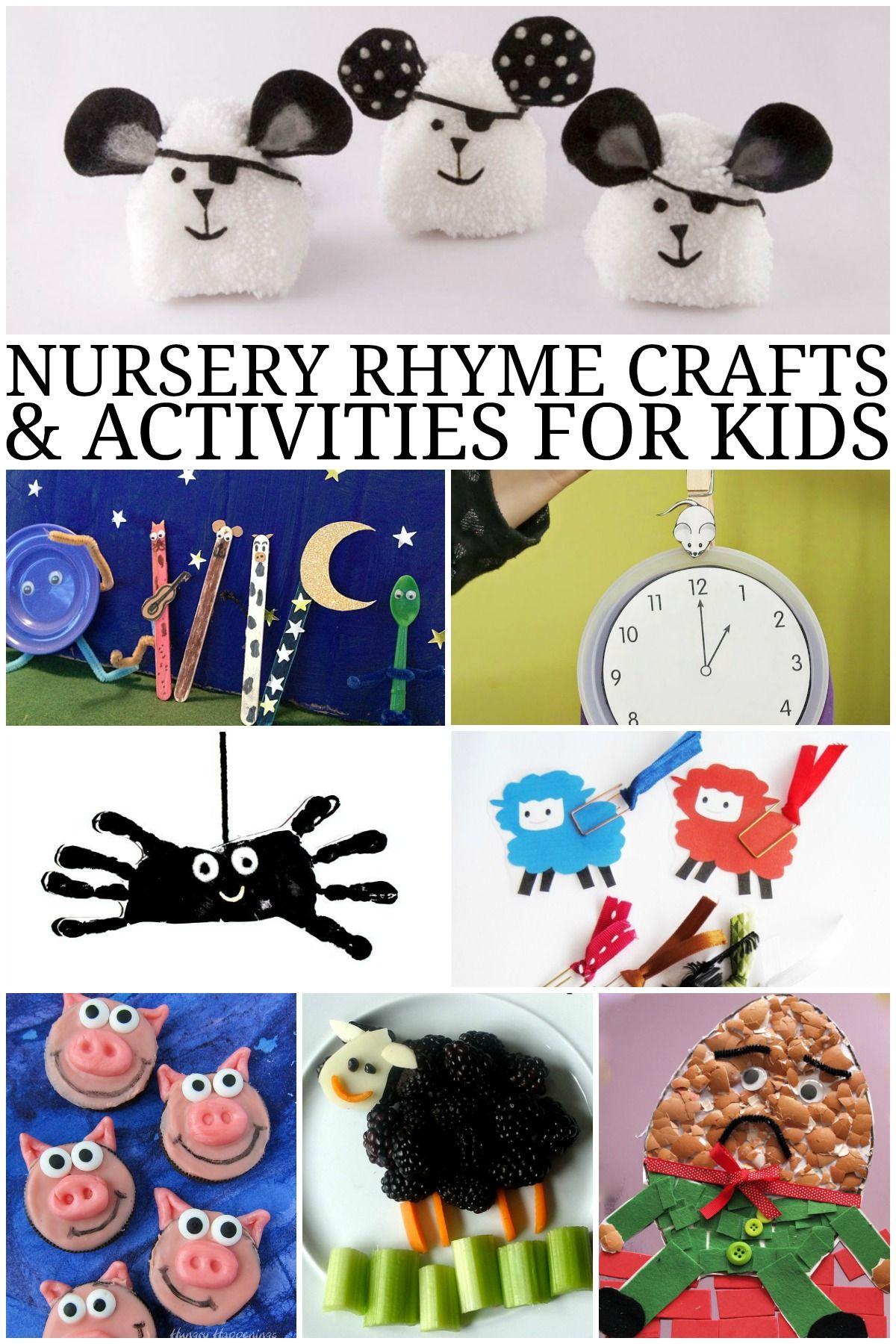 Little Bo Peep Crafts For Preschoolers