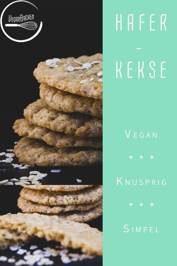 Vegane Haferkekse auf schwedische Art: süß & knusprig! – Carey&CleanEatingS