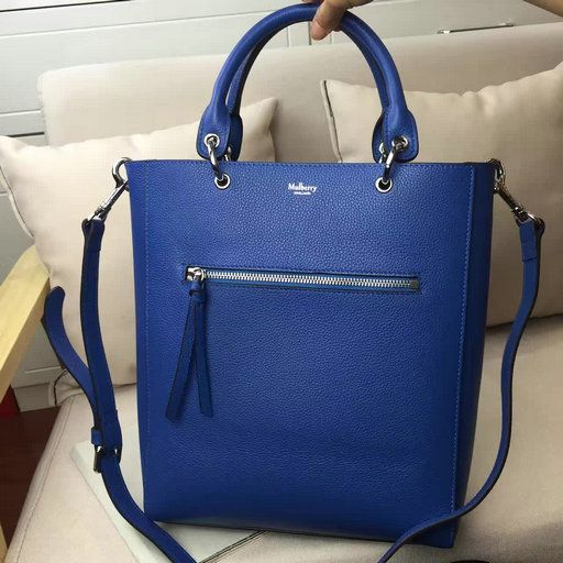 42daf6b1161c 2017 Spring Mulberry Small Maple Tote Bag Porcelain Blue Natural Grain  Leather