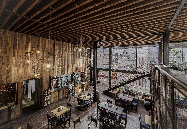 Estrutura Metalica Toda Aparente Fechamentos Em Vidro Gallery Of Restaurant Ilforno Plasma Nodo Cafe Interior Design Restaurant Plan Western Restaurant