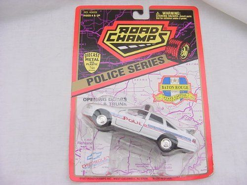 Hot Wheels 1:64 Scale 1998 Series STATE POLICE CAR