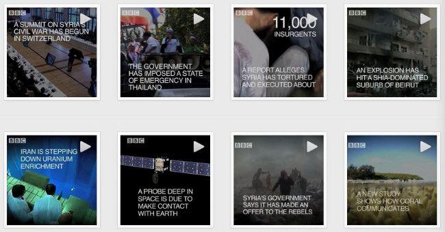Los vídeos de Instagram se convierten en un soporte para las noticias de la BBC  http://www.genbeta.com/p/110432