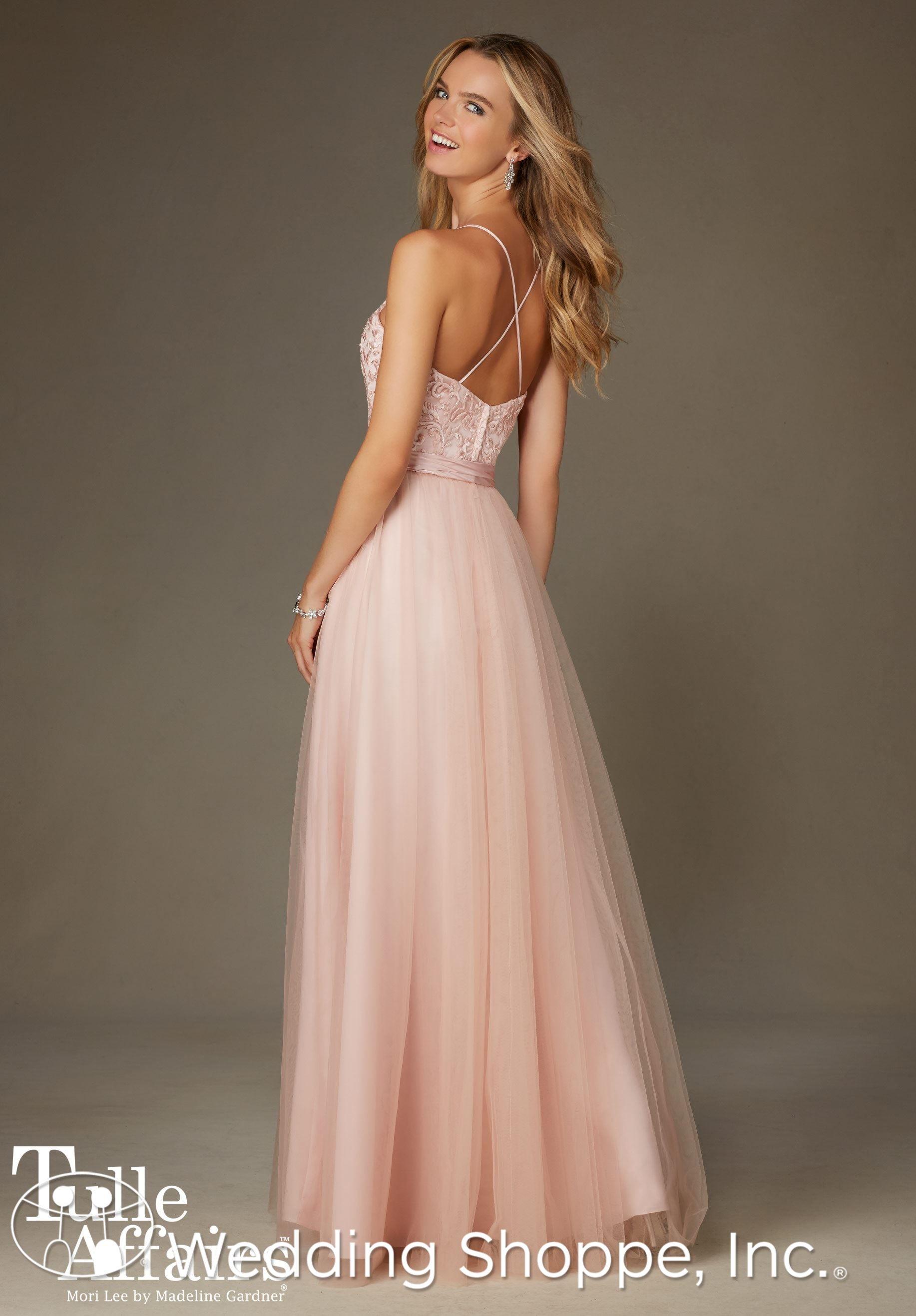 Mori lee bridesmaid dress bridesmaid bride dresses