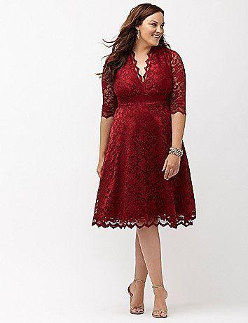 d6136171971 Plus Size Holiday Party Dress - Plus Size Lace Cocktail Dress ...