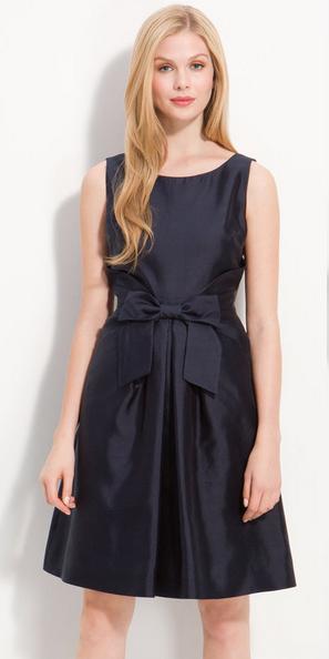dc5771c77 BOW FRONT JILLIAN DRESS IN BLACK BY KATE SPADE NEW YORK   Party wear ...