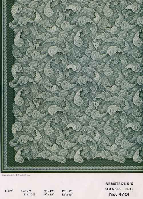 31 Linoleum Rugs From Armstrong, 1954. Linoleum FlooringFloorsArmstrong  FlooringRetro ...