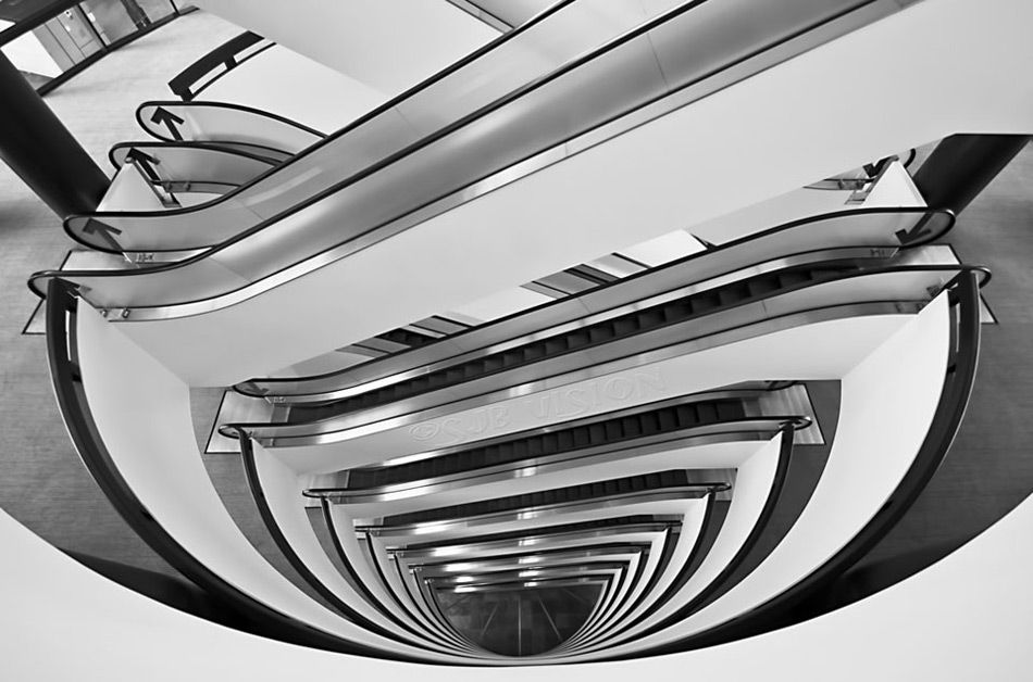 Going up? Mazda logo, In this moment, Photo