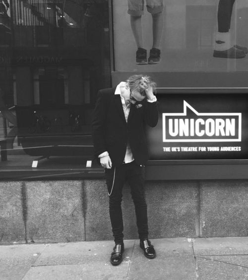 Jamie campbell bower IS a UNICORN!!!!