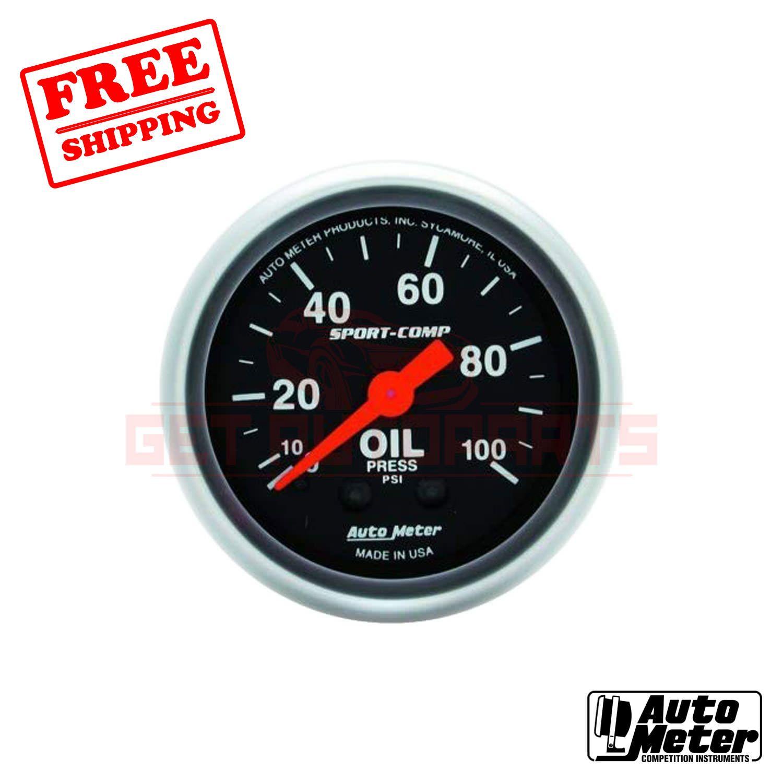 Autometer Gauge Oil Press Aut3321 Ebay In 2020 Autometer Gauges Gauges Oils