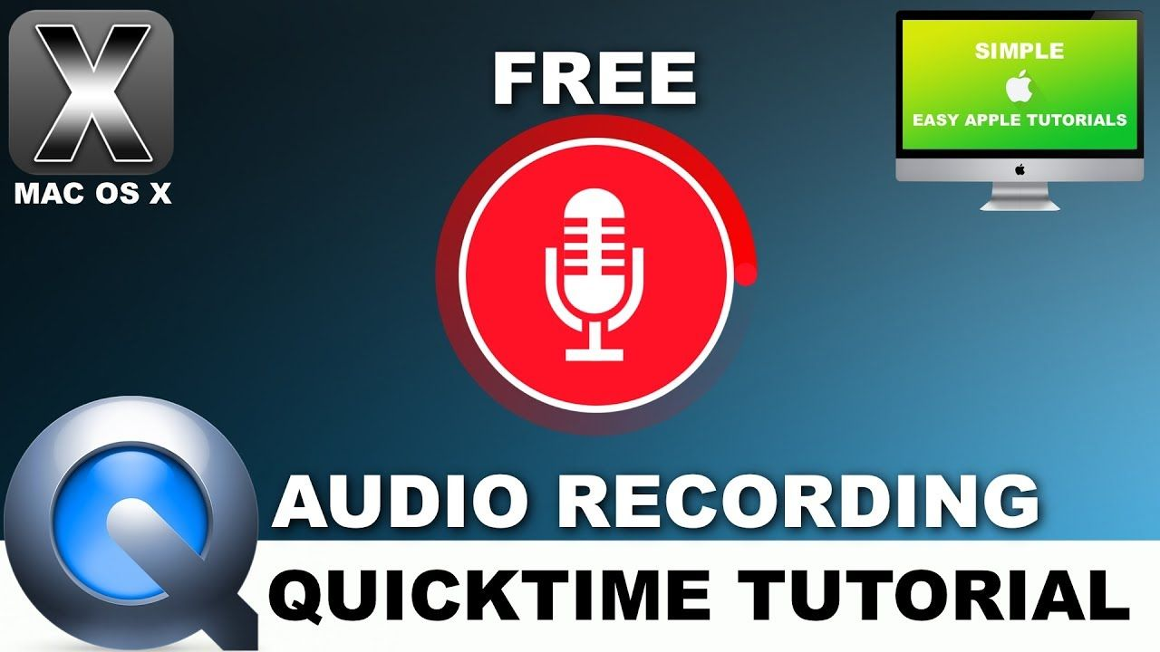 How to record audio using any microphone on your mac using