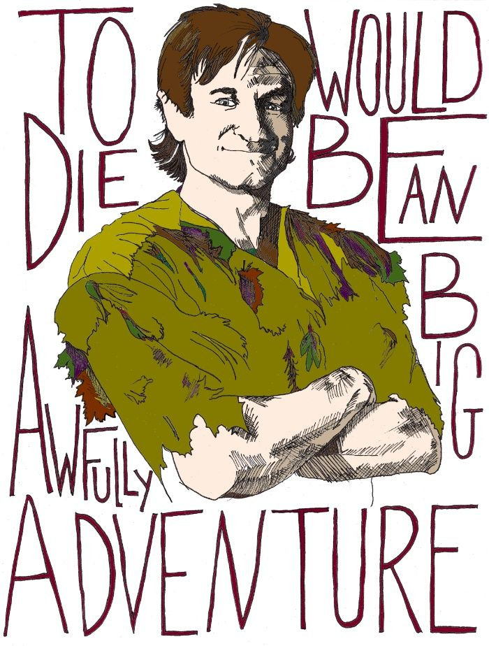 Robin Williams Hook Peter Pan Quote Art Print By Katdw92 Society6 Robin Williams Art Robin Williams Quotes Peter Pan Quotes