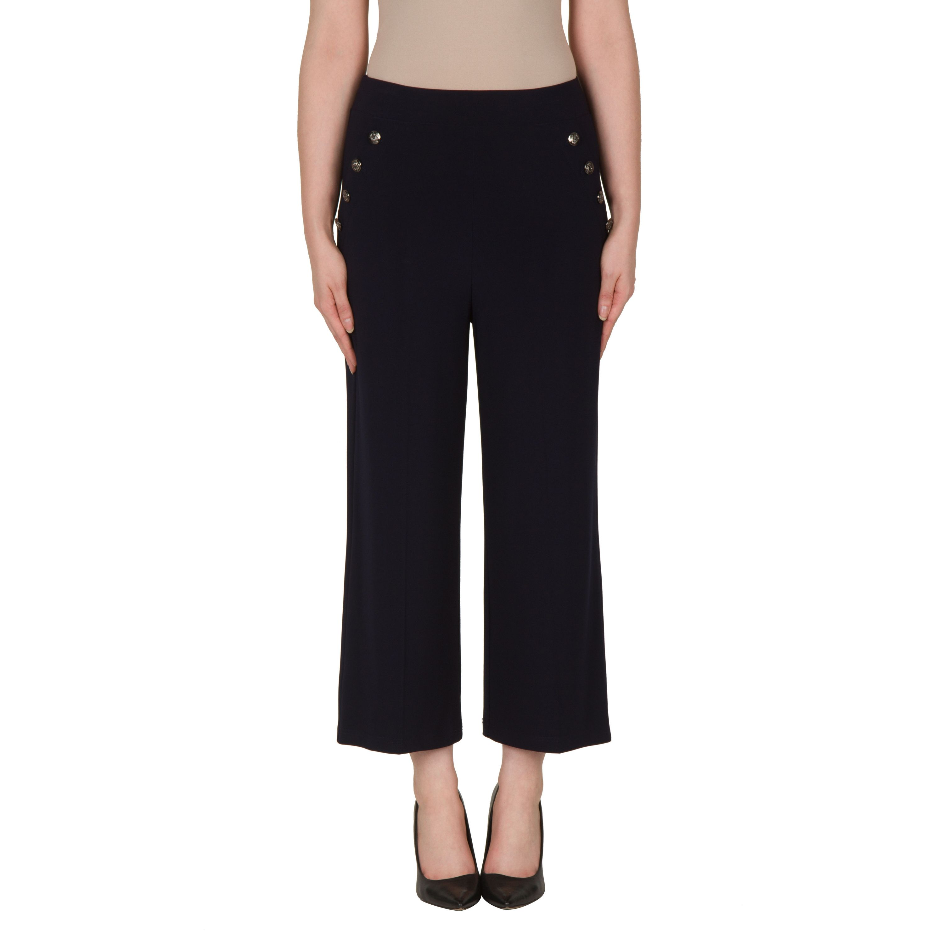967f59b09c5a6f Joseph Ribkoff Trousers Midnight Blue 172093 are a fabulous cruise wear  piece with an elasticated waistband giving an easygoing pull on style.