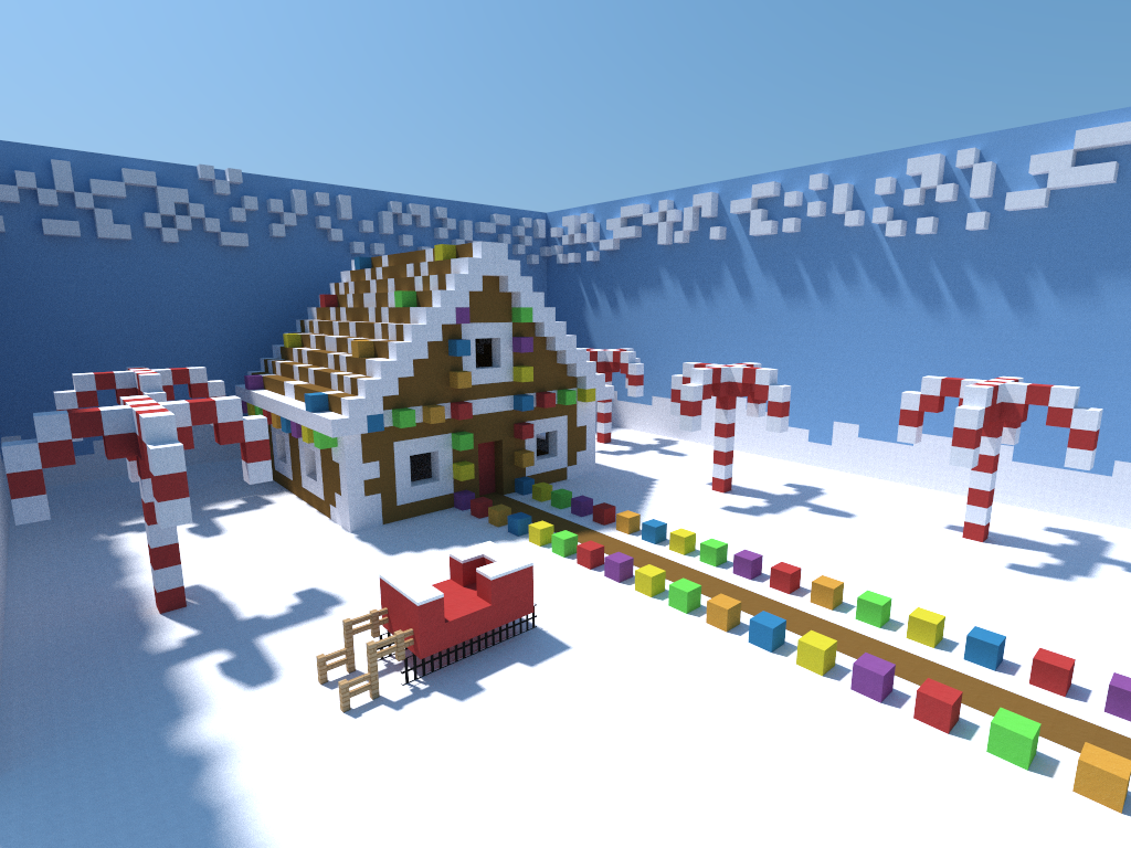 Minecraft Christmas Houses.Gingerbread House Merry Christmas Erbody Minecraft