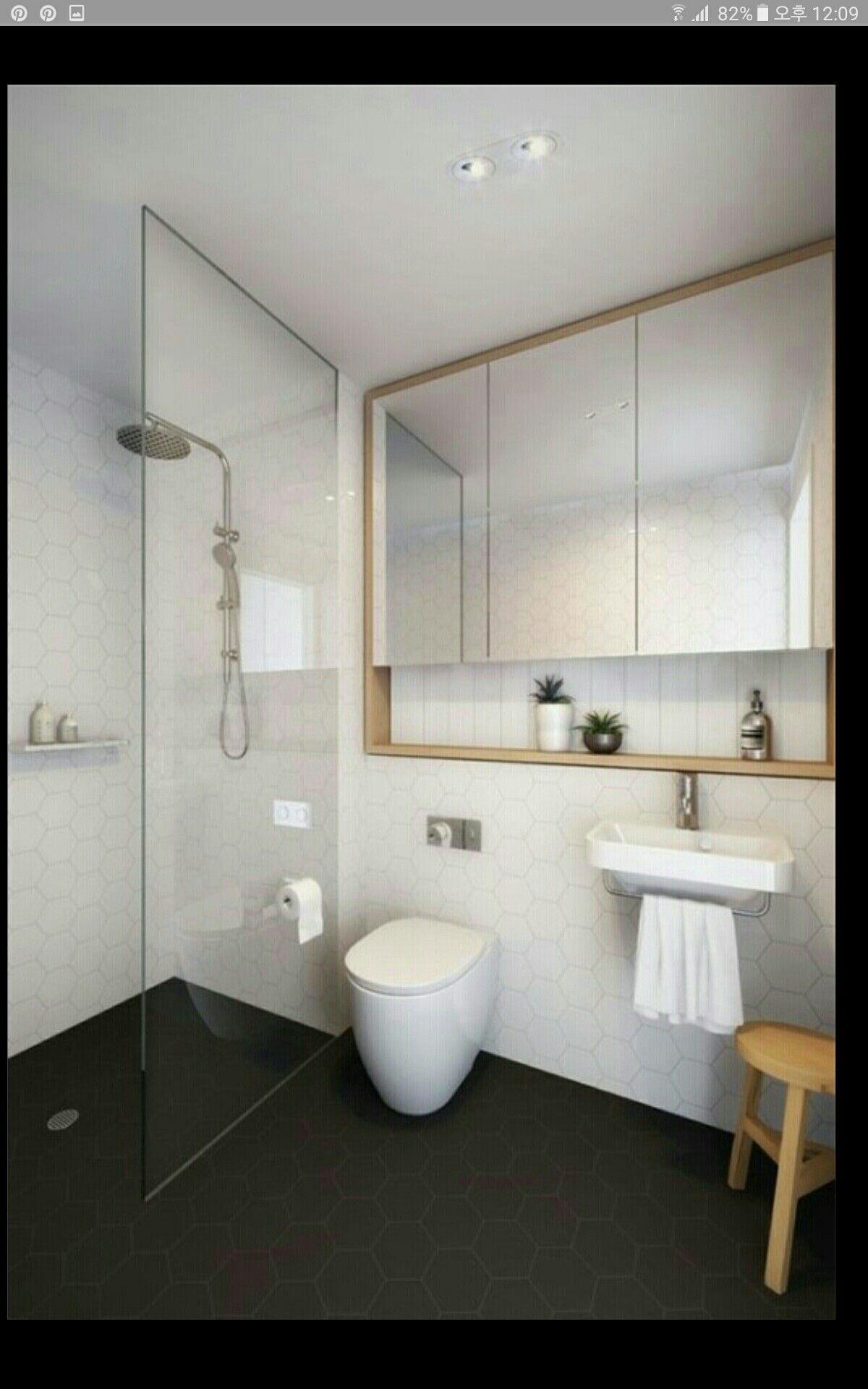 Pin Von Gina Ko Auf Wc Modern Badezimmer Spiegelschrank