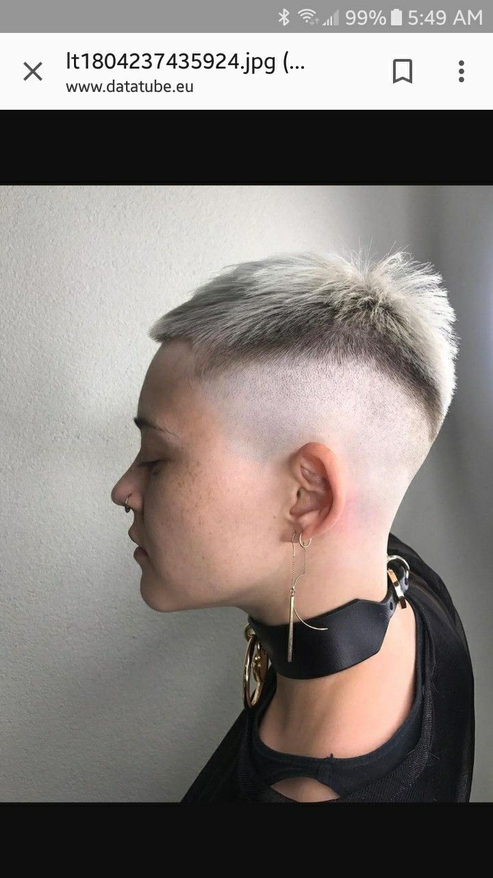 Pin by erwin de on buzz cut women pinterest shaved sides hair