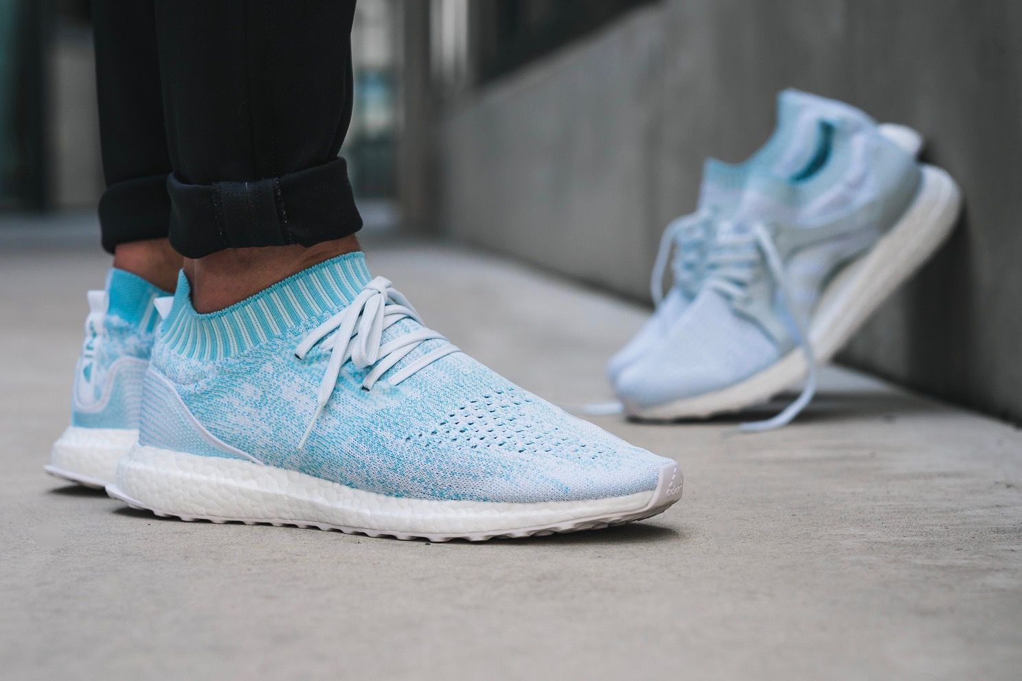 217e1bd84 adidas x Parley Ultra Boost - Solebox On Foot Preview - EU Kicks  Sneaker  Magazine