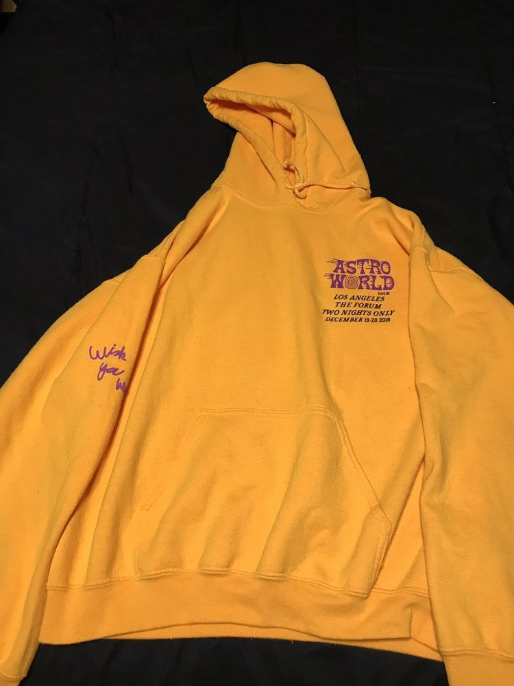 606b46124860 Travis Scott Astroworld Tour L.A. Forum Hoodie December 19-20 2018 #fashion  #clothing #shoes #accessories #mensclothing #activewear (ebay link)