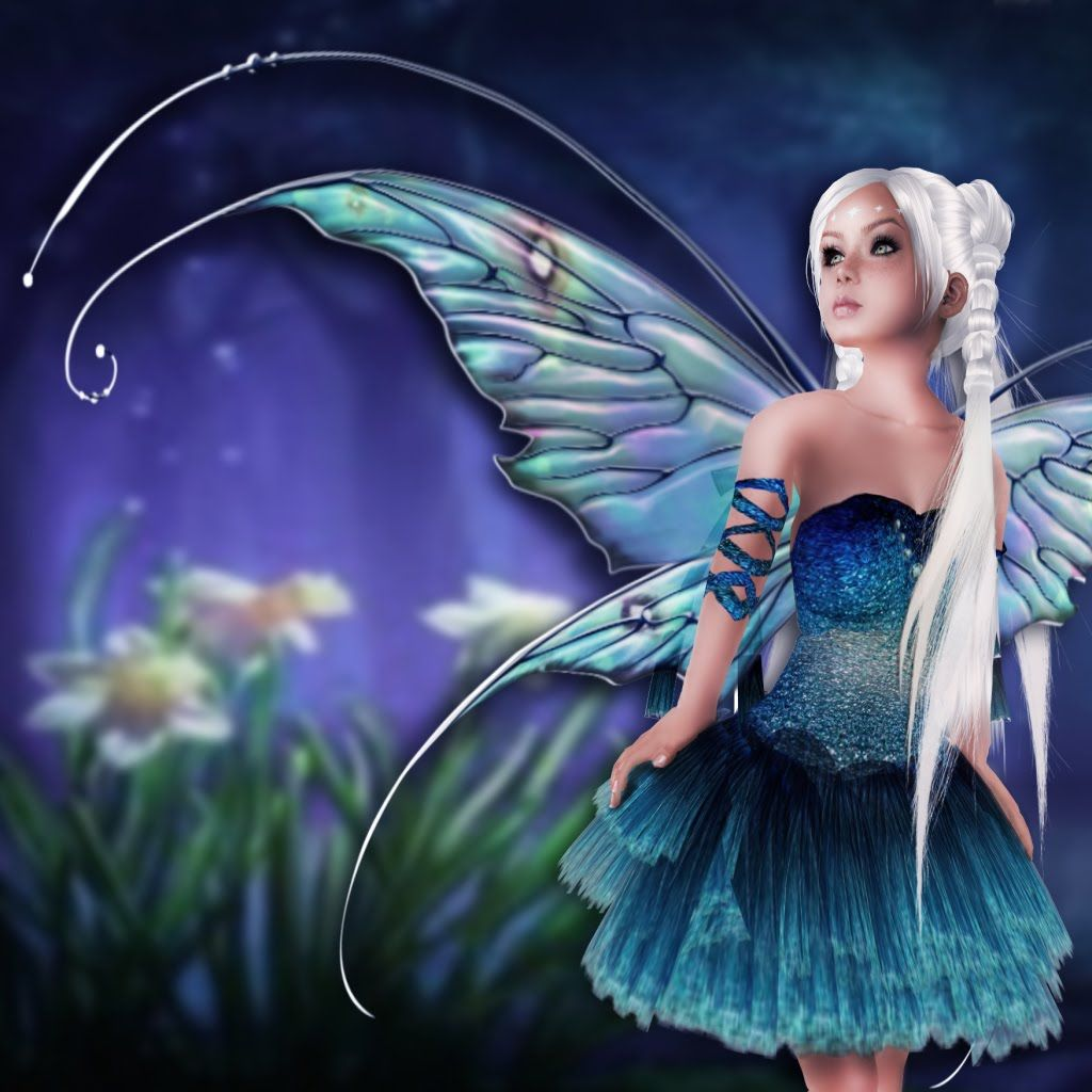Free download of Blue Fairy vector graphics and illustrations