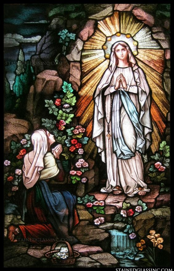 Day 6 - Novena to Our Lady of Lourdes #pinterest O glorious Mother of God, so powerful under your special title of Our Lady of Lourdes, to you we raise our hearts to implore your powerful intercession in obtaining from the gracious Heart of Jesus all the helps ......| Awestruck Catholic Social Network
