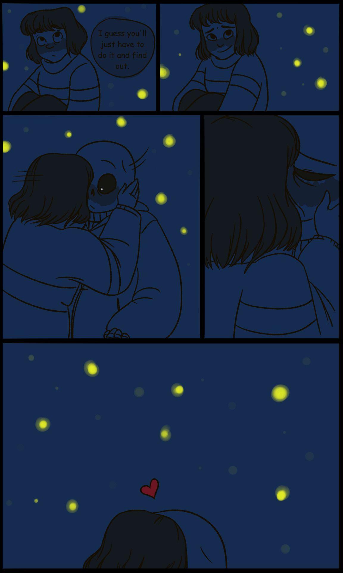 sans x frisk | Tumblr