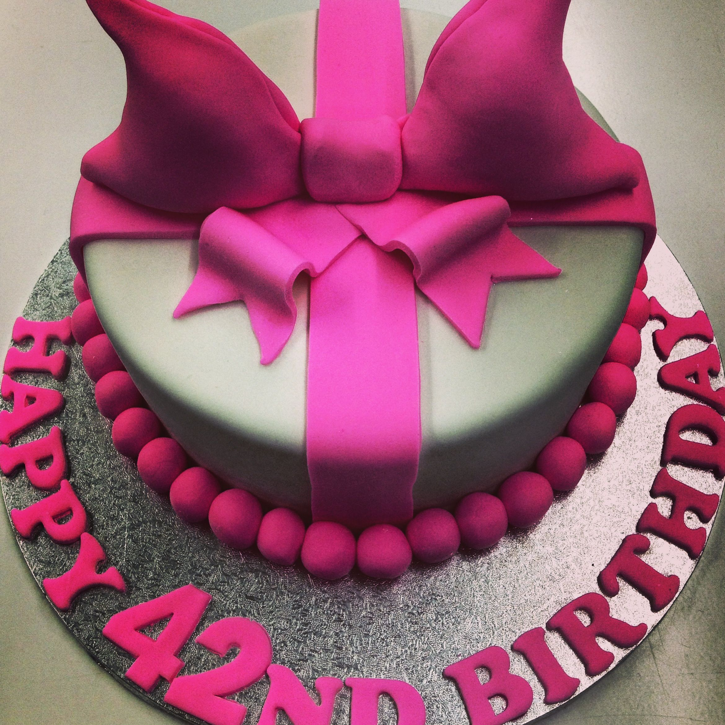 Pleasant 42Nd Birthday Cake With Images 42Nd Birthday Birthday Cakes Funny Birthday Cards Online Fluifree Goldxyz