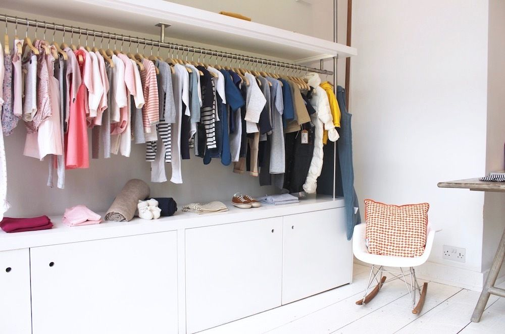 Platz sparen: Kleiderstange für Wand selber bauen | DIY Ideen ...