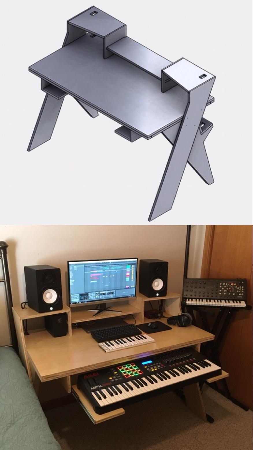 Turned an idea into reality : MusicBattlestations | Home ...