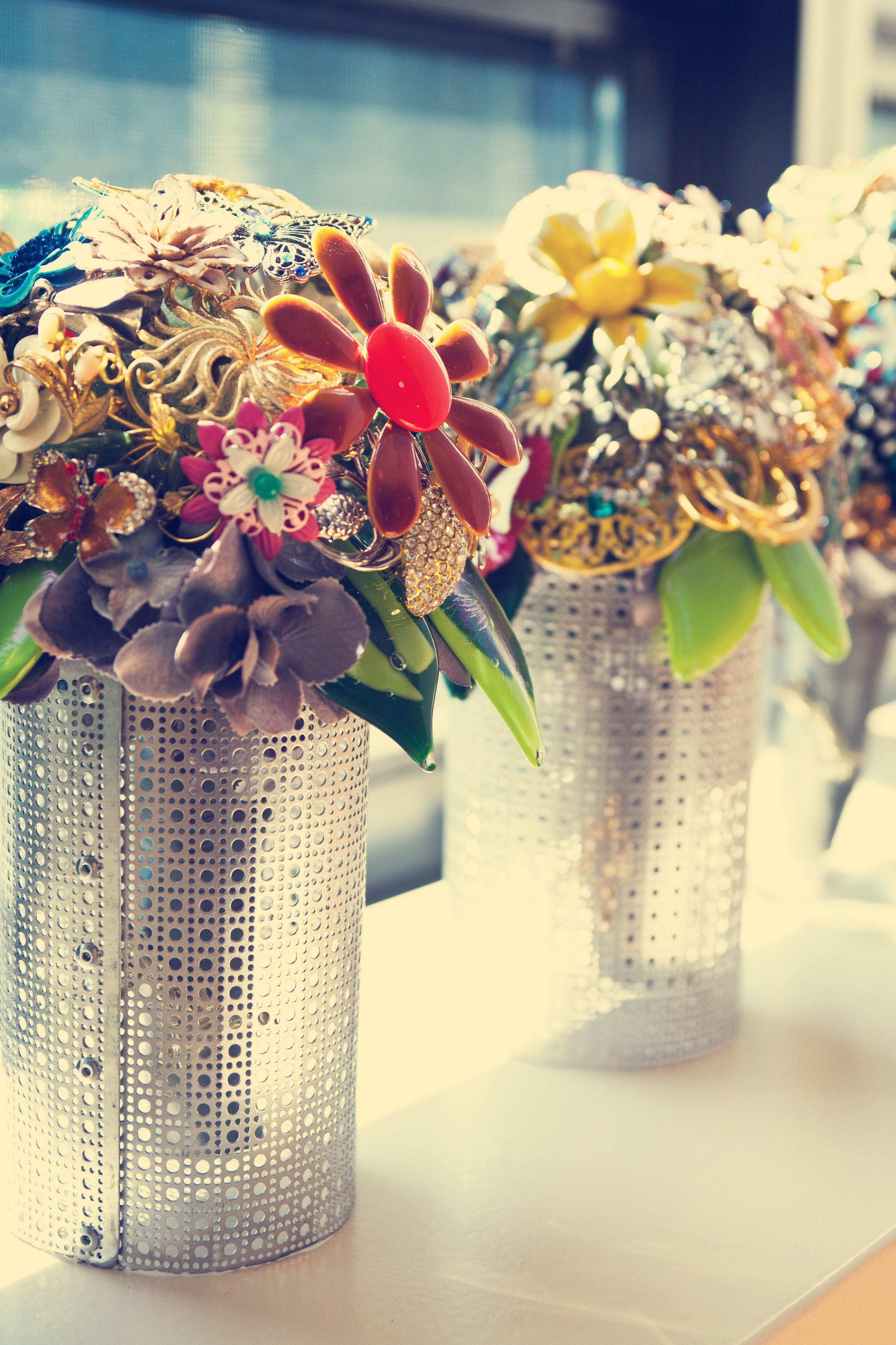 Broach bouquets! Photo by Heidi S. #minneapolisweddingphotographers
