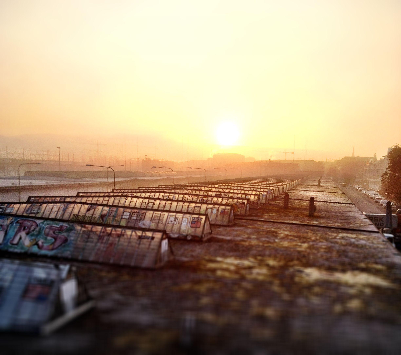 Guten Morgen Zürich-West.