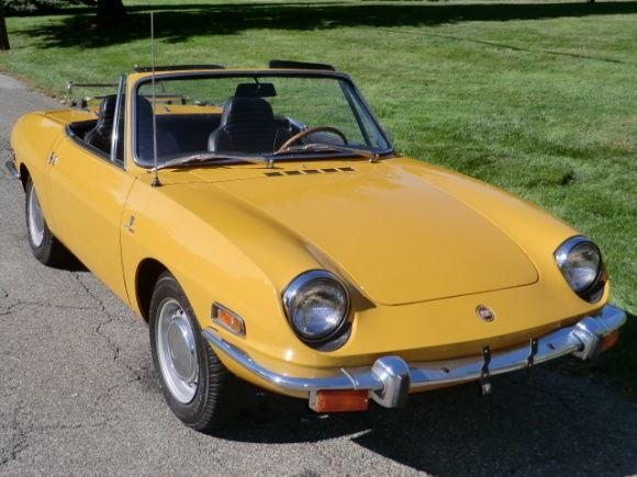 63k Mile 1970 Fiat 850 Spider With Images Fiat 850 Fiat Fiat
