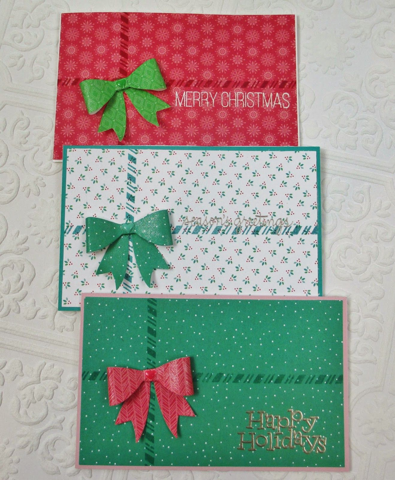 Diy Christmas Gift Card Holder: Simple Gift Card/Money Holder Cards By Heather Ruwe Using