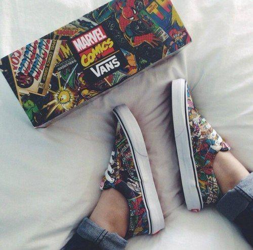 zapatillas vans marvel