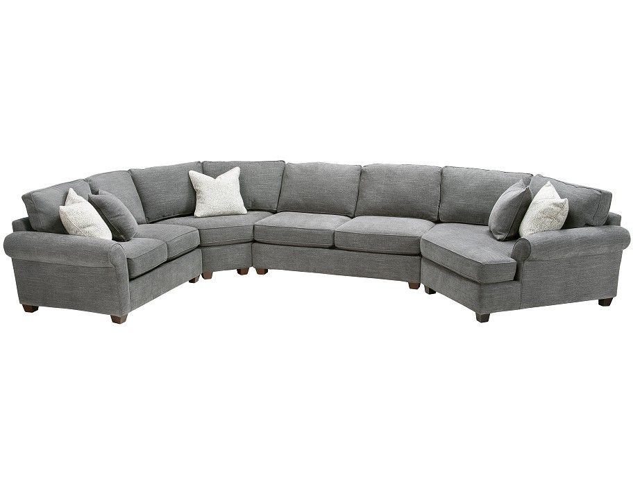 Sofa Mart Glenwood 4 Pc Sectional Can Customize Fabric And