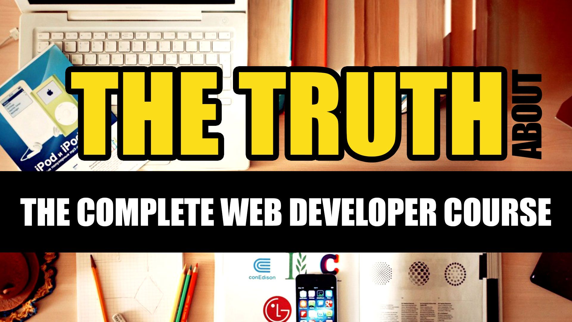 This is my review of Rob Percival's Complete Web Developer Course on
