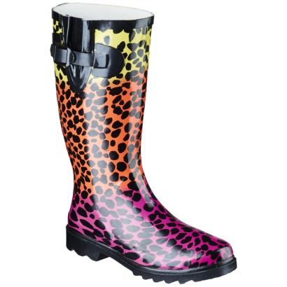 Women's Banji Cheetah Rain Boot from Target!! | Lisa Frank Likes ...