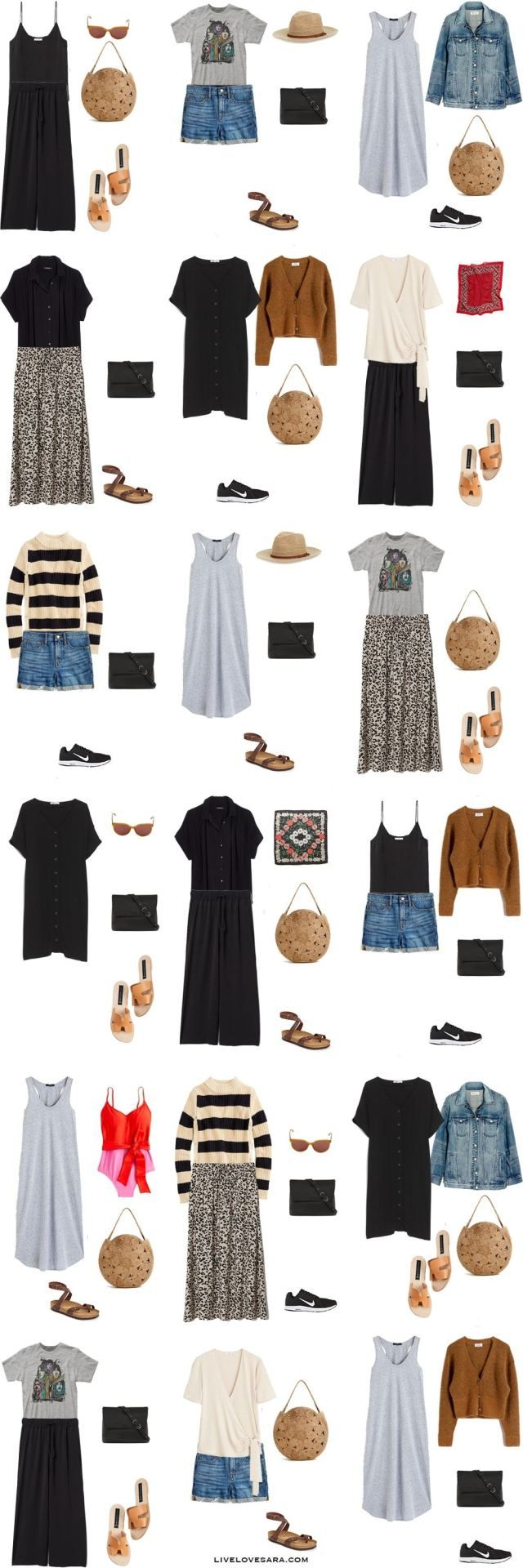 What to Pack for Hawaii - Packing Light List #travelwardrobesummer