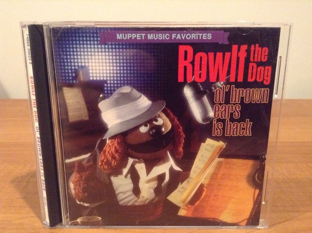 Rowlf The Dog Ol' Brown Ears Is Back CD Muppet Muppets Jim Henson