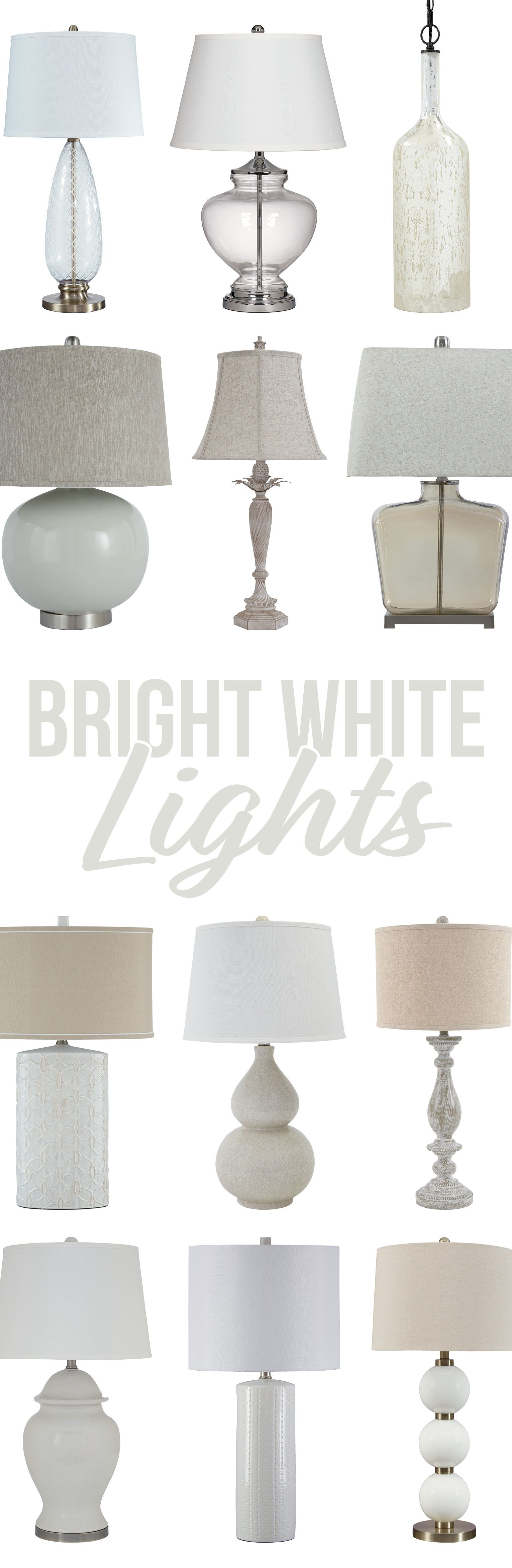 Bright White Lights To Brighten Up Your Home With Style