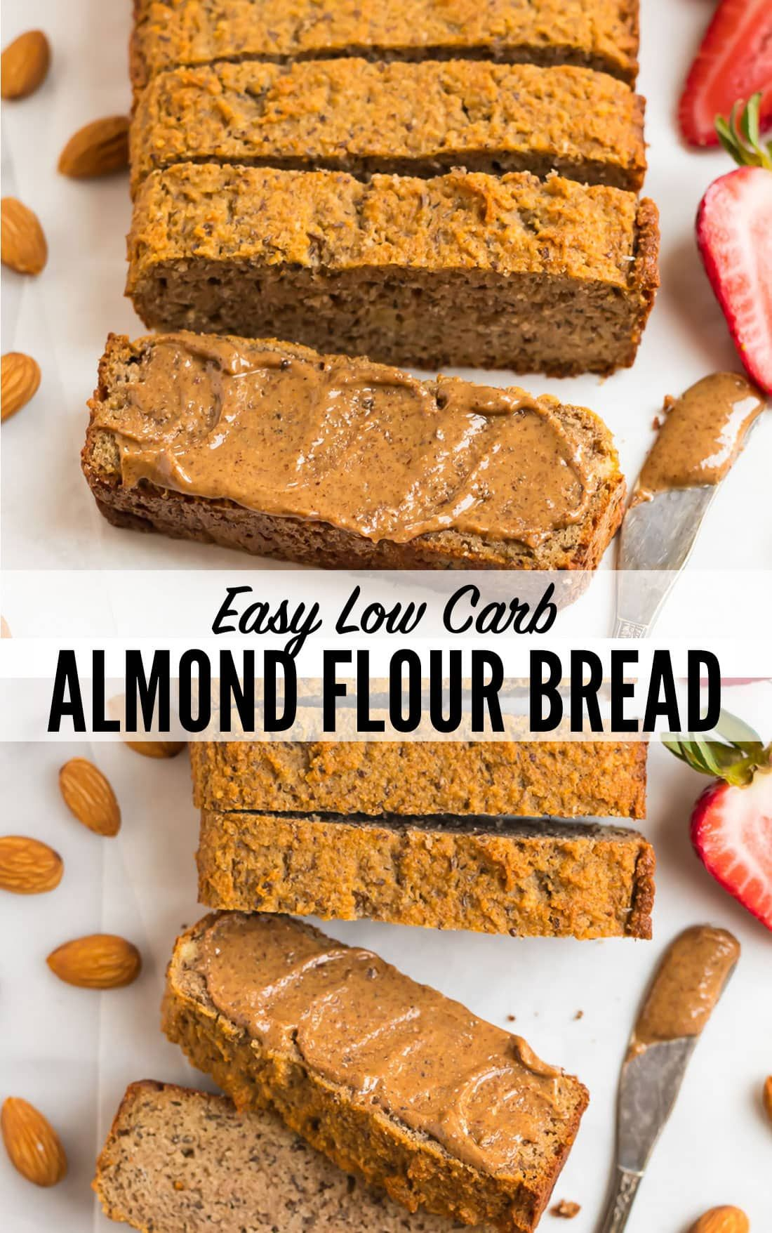 The Best Quick Almond Flour Bread Low Carb Paleo Keto And Gluten Free This Easy Bread Comes Togeth Almond Flour Bread Almond Bread Keto Bread Coconut Flour