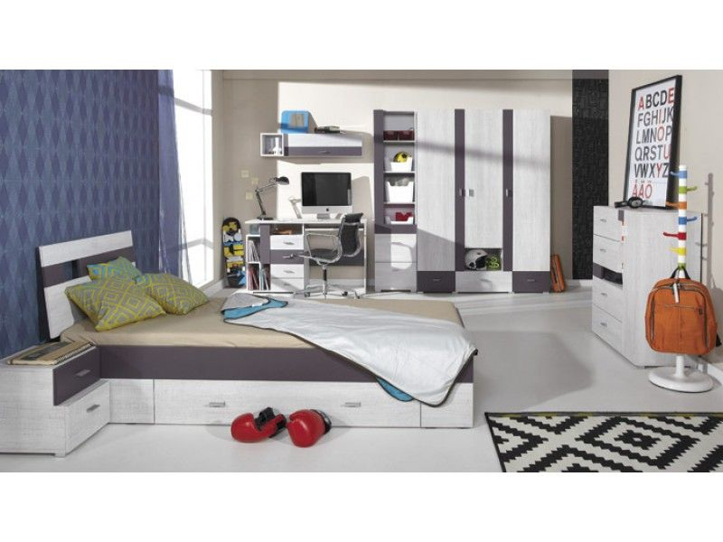 Next C Furniture For Kids   To Furnish All The Bedroom. Product Features:  Set Is Made Of High Quality MDF, Edges Finished With PVC System Includes: 1.
