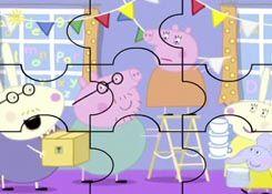 Juegosdepeppa Com Juego Rompecabezas Fiesta Peppa Pig Puzzles De Dibujos Online Juegos Peppa Gratis Online Juegos De Peppa Dibujos Online Fiestas Peppa Pig