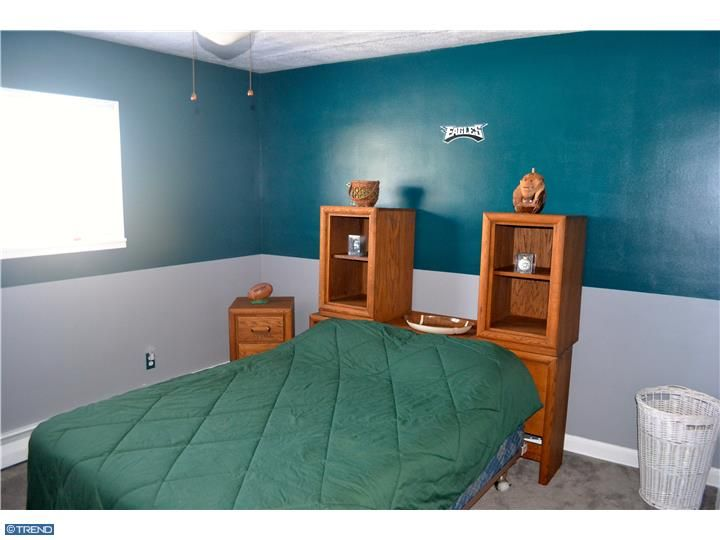 Philadelphia Eagles Football Room Green Silver Gray Paint Scheme Second Of Four Bedrooms