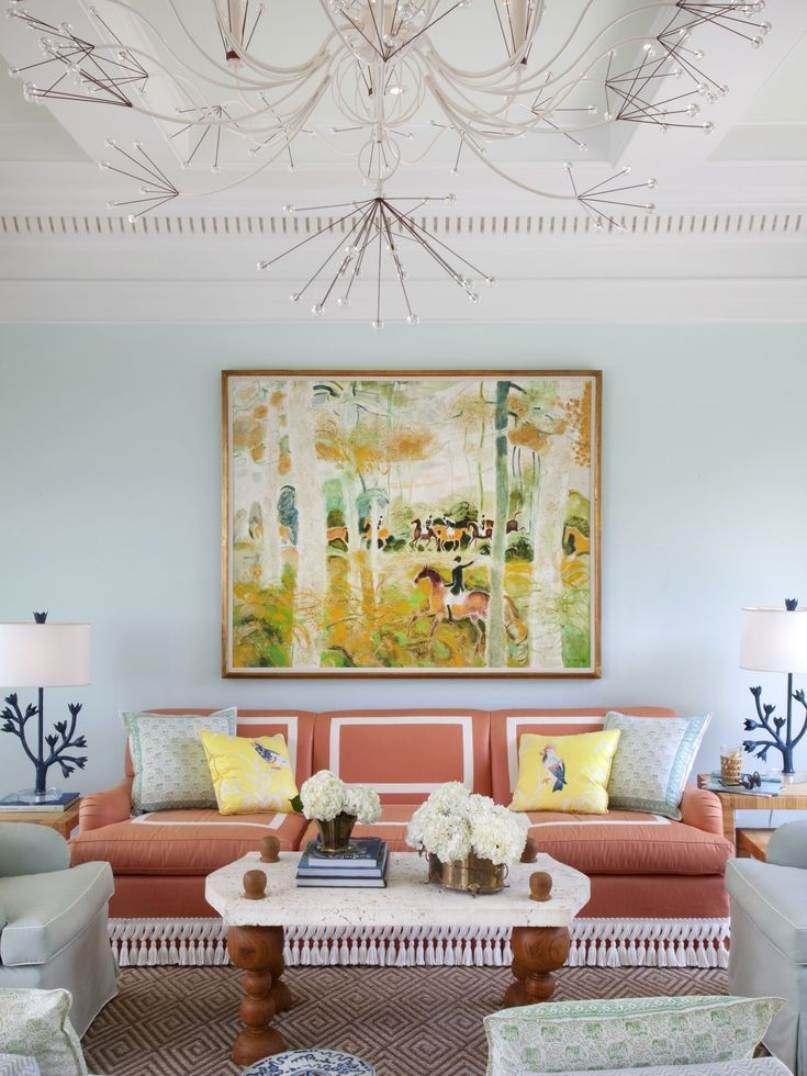 Welcome To Decorist Celerie Kemble Living Room Designs Room Design Decor #turquoise #and #coral #living #room